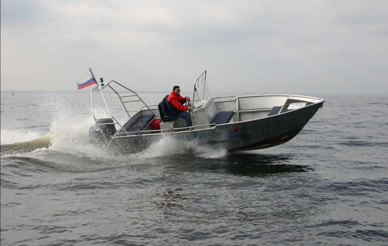 Алюминиевый катер ОХТА 21
