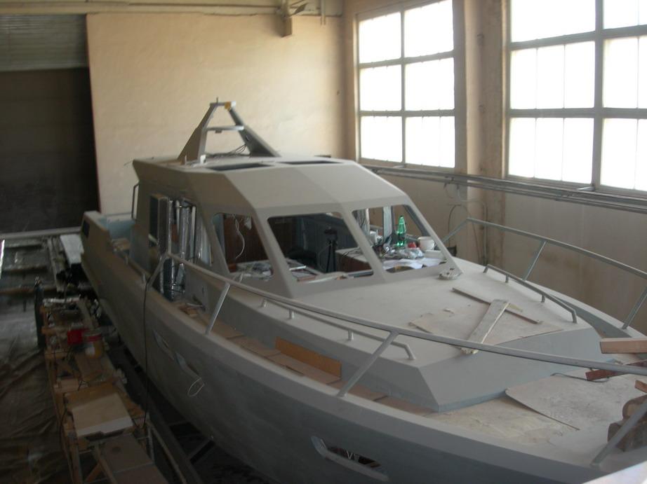 Моторные яхта своими руками