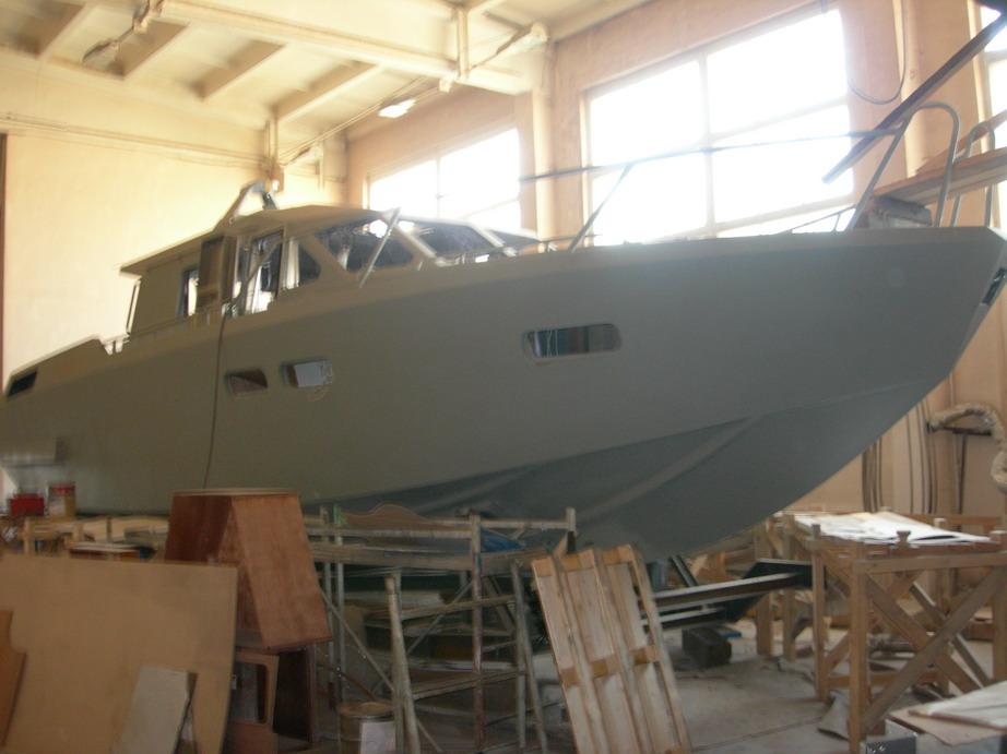 Моторная яхта своими руками