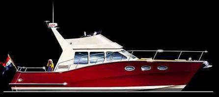 Моторная яхта Atlantic 1200